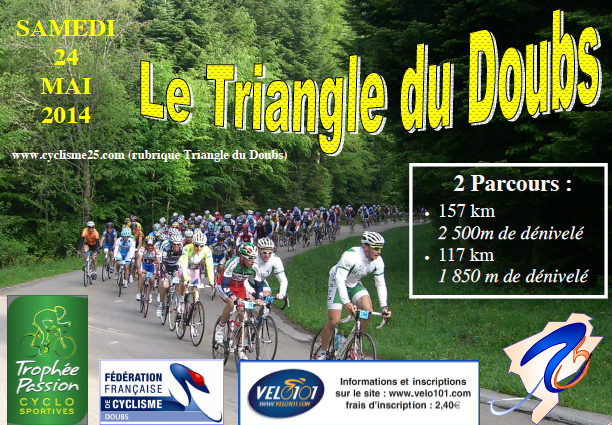 Le Triangle du Doubs 2014