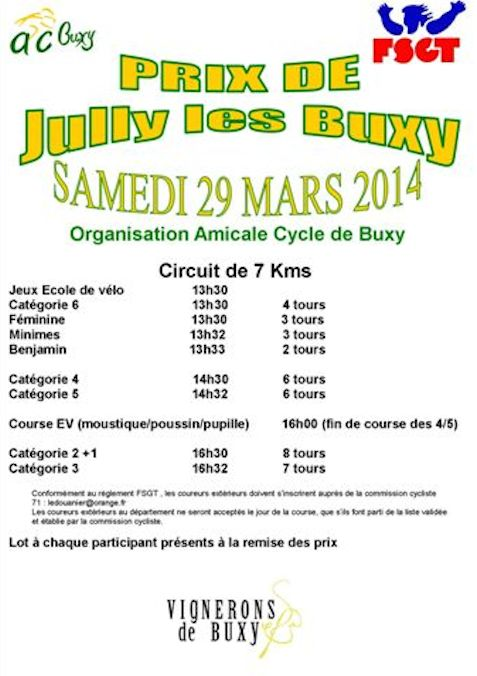 Prix de Jully 2014