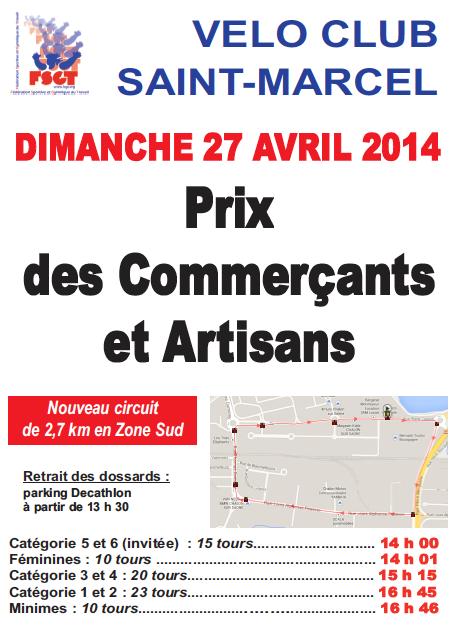 Prix de Saint Marcel 2014
