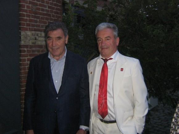 Serge COGNARD et Eddy MERCKX