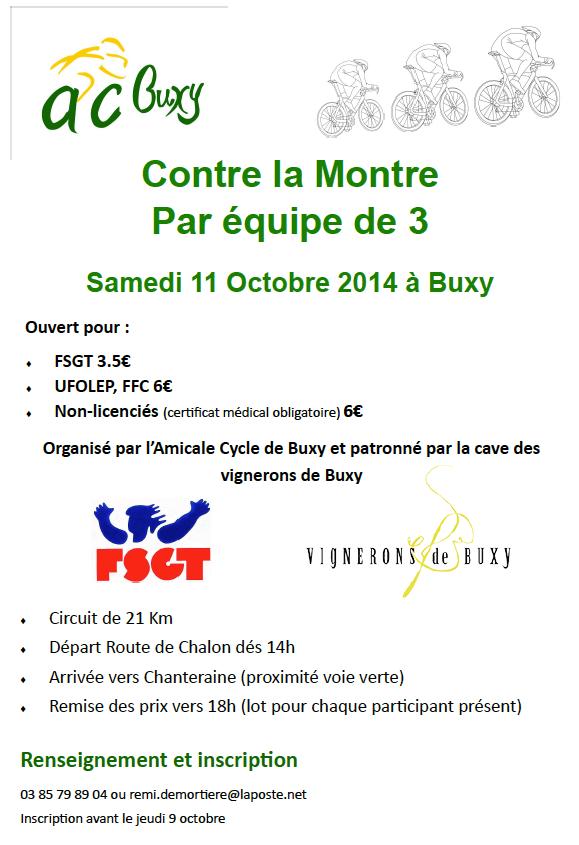 CLMx3 Buxy 2014