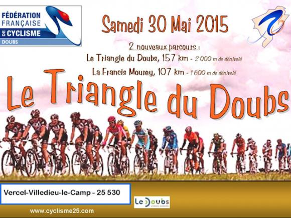 Cyclo Le Triangle du Doubs 2015