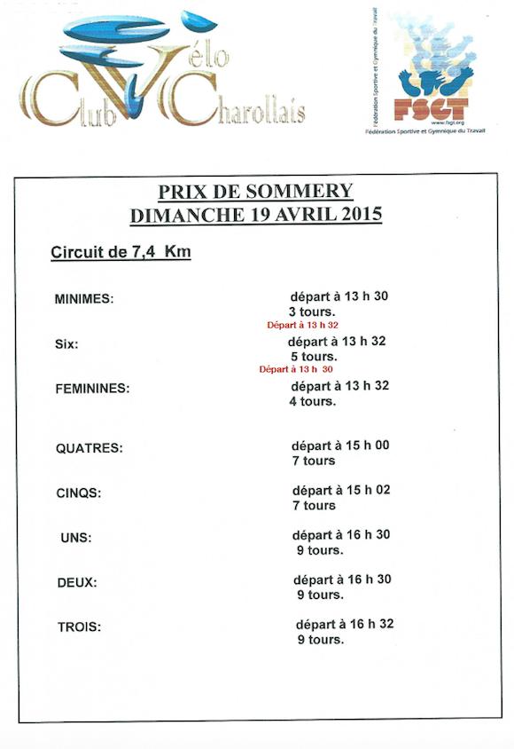 Prix de Sommery 2015