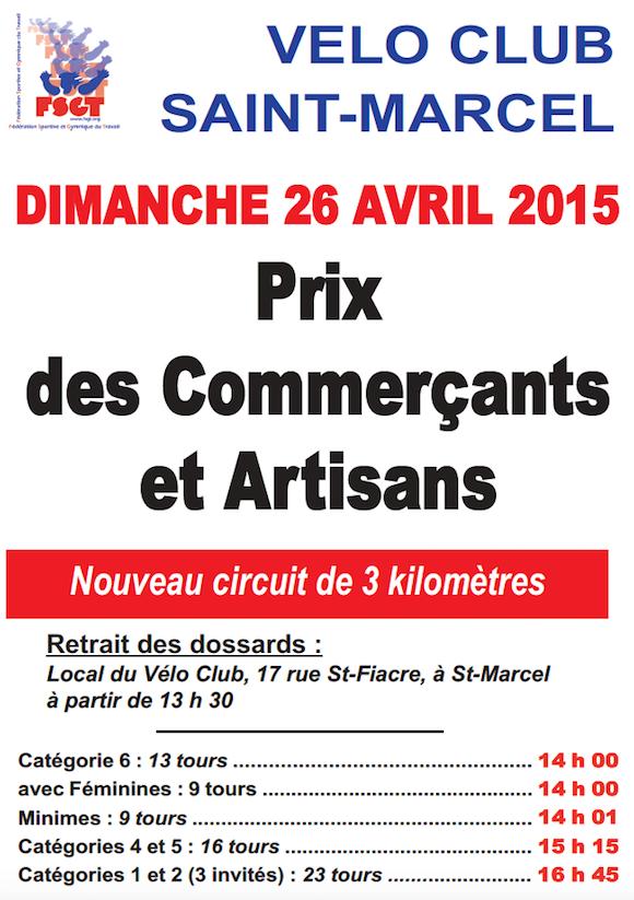 Prix de St Marcel 2015