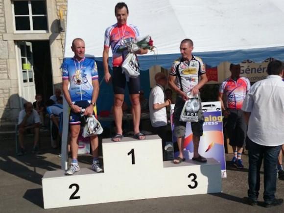 Olivier Calonne Champion de Bourgogne de CLM