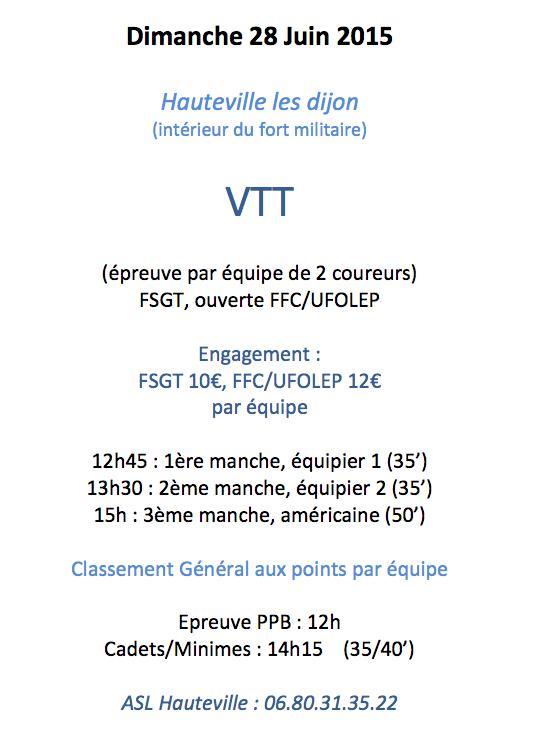 VTT Hauteville 2015