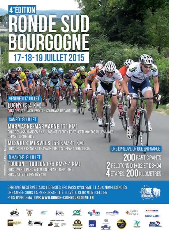 Ronde Sud Bourgogne 2015