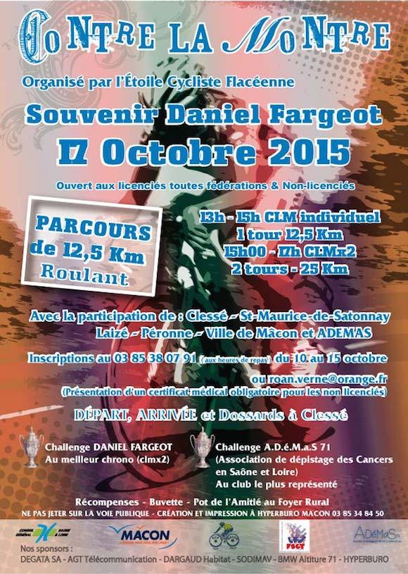 Souvenir Daniel Fargeot 2015