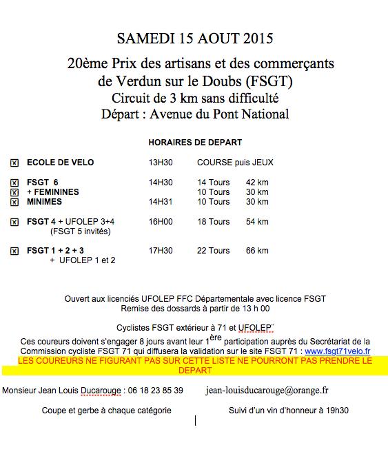 Prix de Verdun 2015