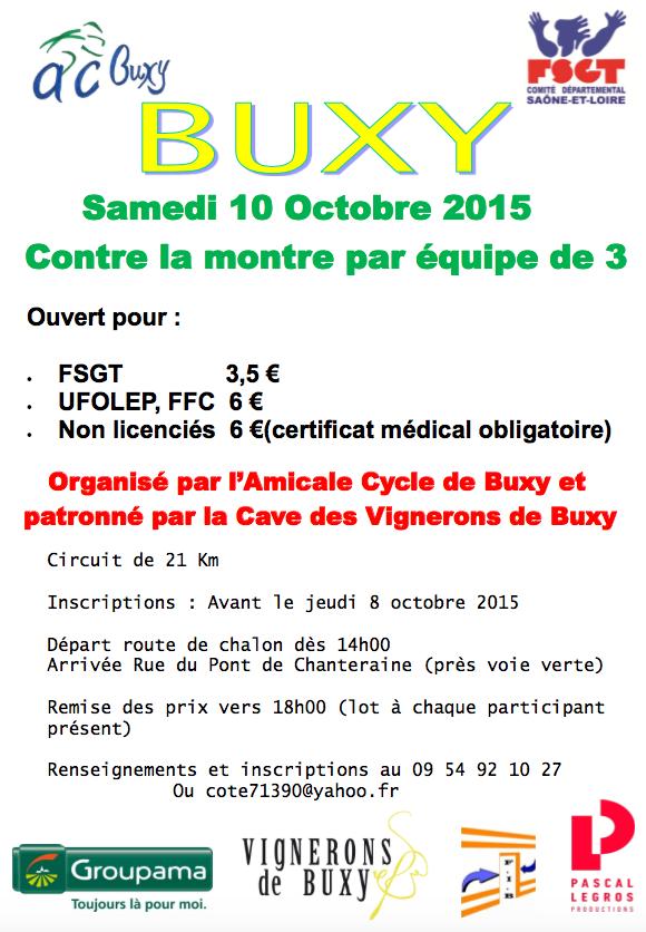 CLMx3 de Buxy 2015