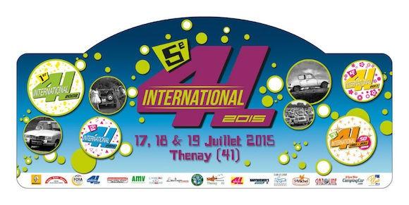 Plaque de Rallye