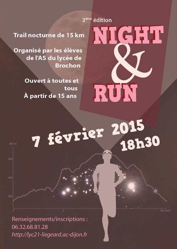 Trail Night & Run Brochon 2016