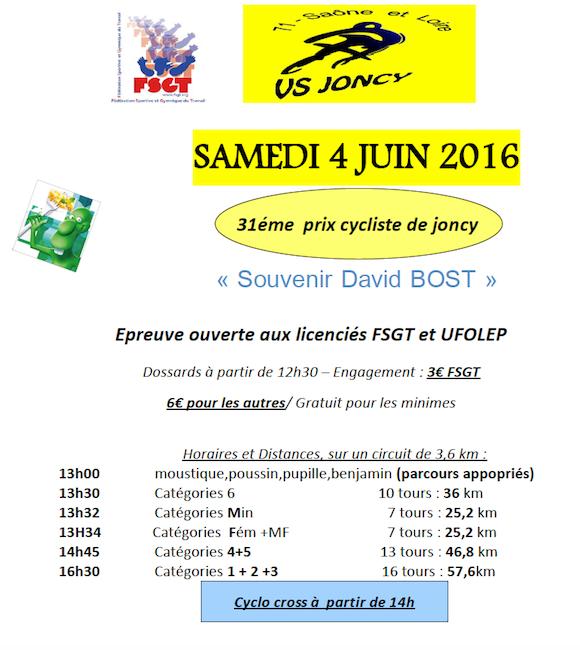 Prix de Joncy 2016
