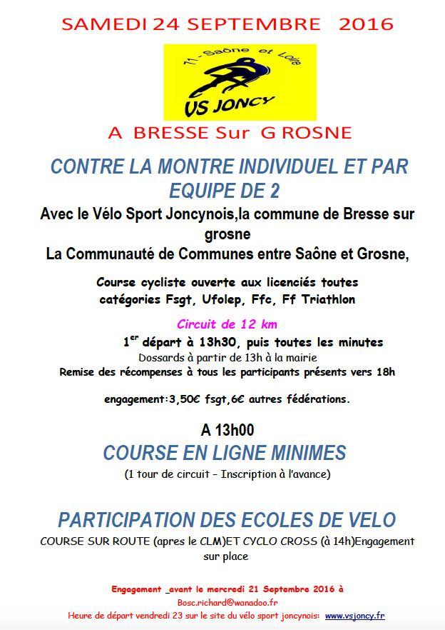 CLM de Bresse:Grosne 2016